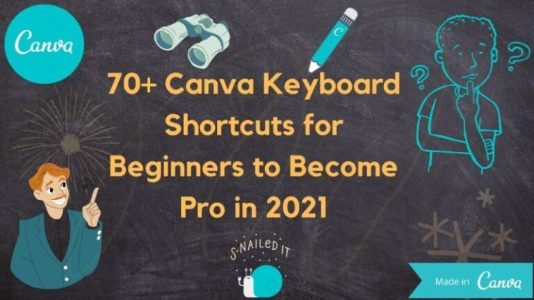70+ Canva-Keyboard-Shortcuts-for-Beginners-to-Become-Pro-in-2021 In Hindi